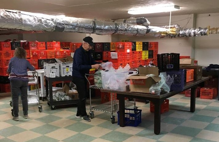 Havertown Company Gives Norristown Food Cupboard a New Look