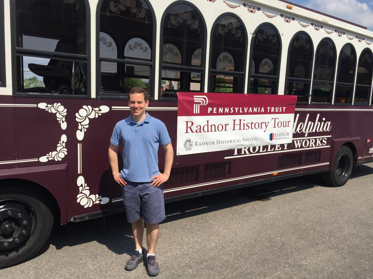 It's Radnor's First Trolley Tour of History