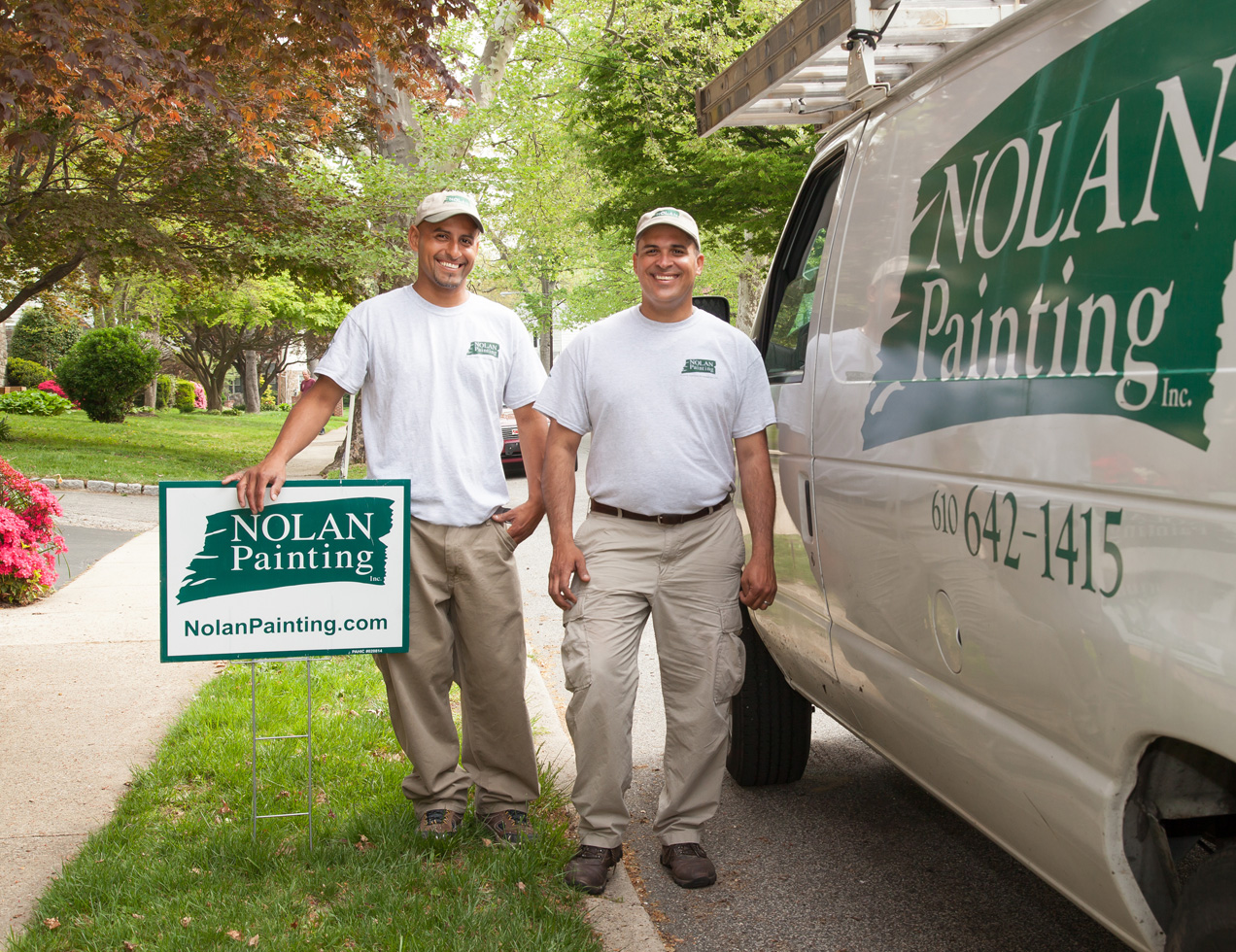 Inquirer Names Havertown's Nolan Painting a Top Workplace in the Delaware Valley