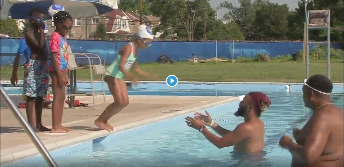 Nile Swim Club in Yeadon on a Mission to Give Kids Free Swim Lessons