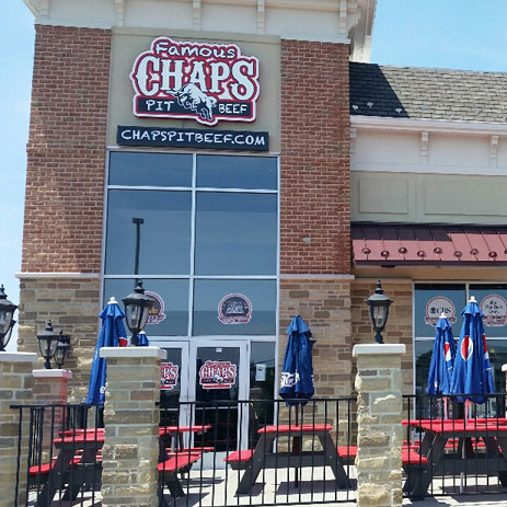 Famous Chaps Pit Beef Opening in Fall at Former Granite Run Mall Site