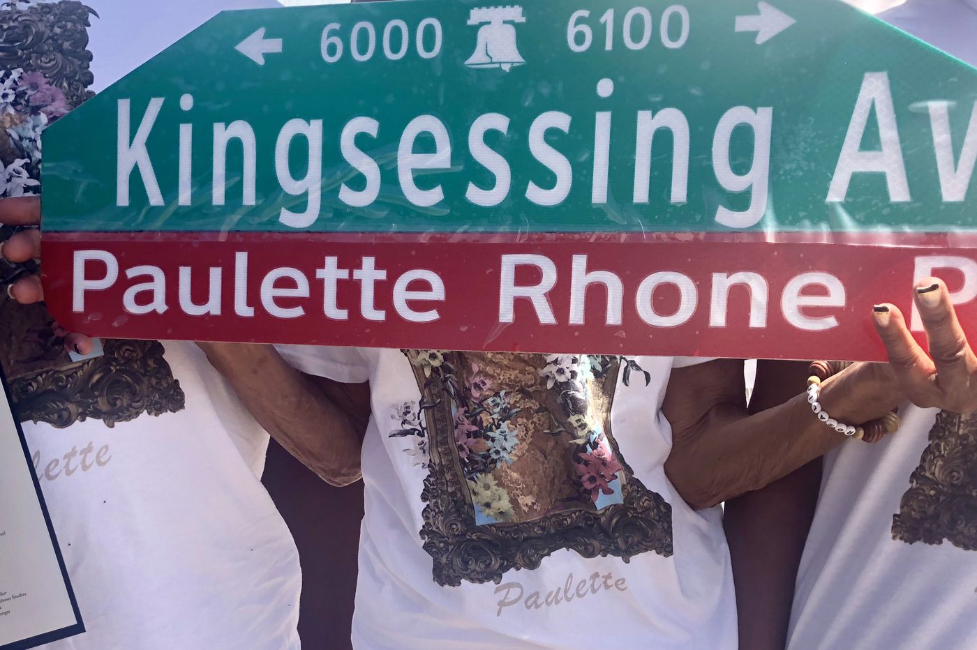 Beloved for Helping Restore Mount Moriah Cemetery, Paulette Rhone Gets a Sign