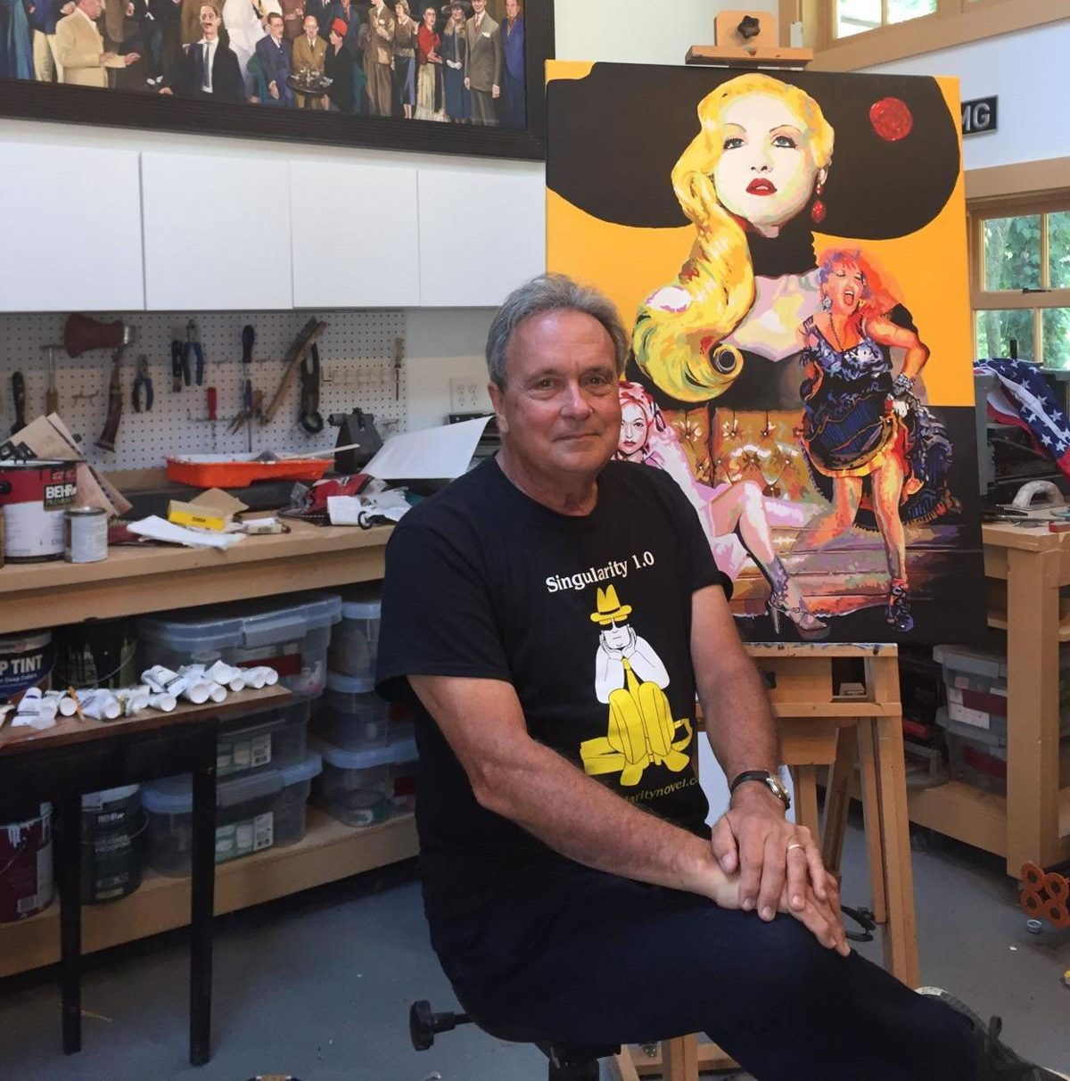 Radnor Artist and Media Ad Man Takes on AI in New Novel