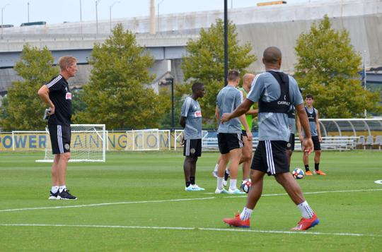 Philadelphia Union Head Coach Jim Curtin Points Franchise in the Right Direction Hoping Philly Will Follow