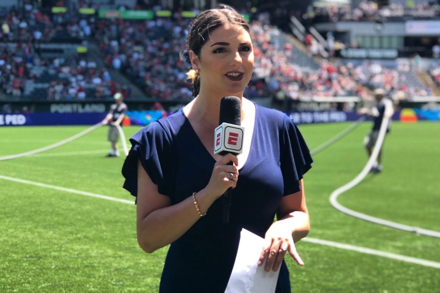 Marisa Pilla Goes from Philadelphia Union TV Host to National Stage