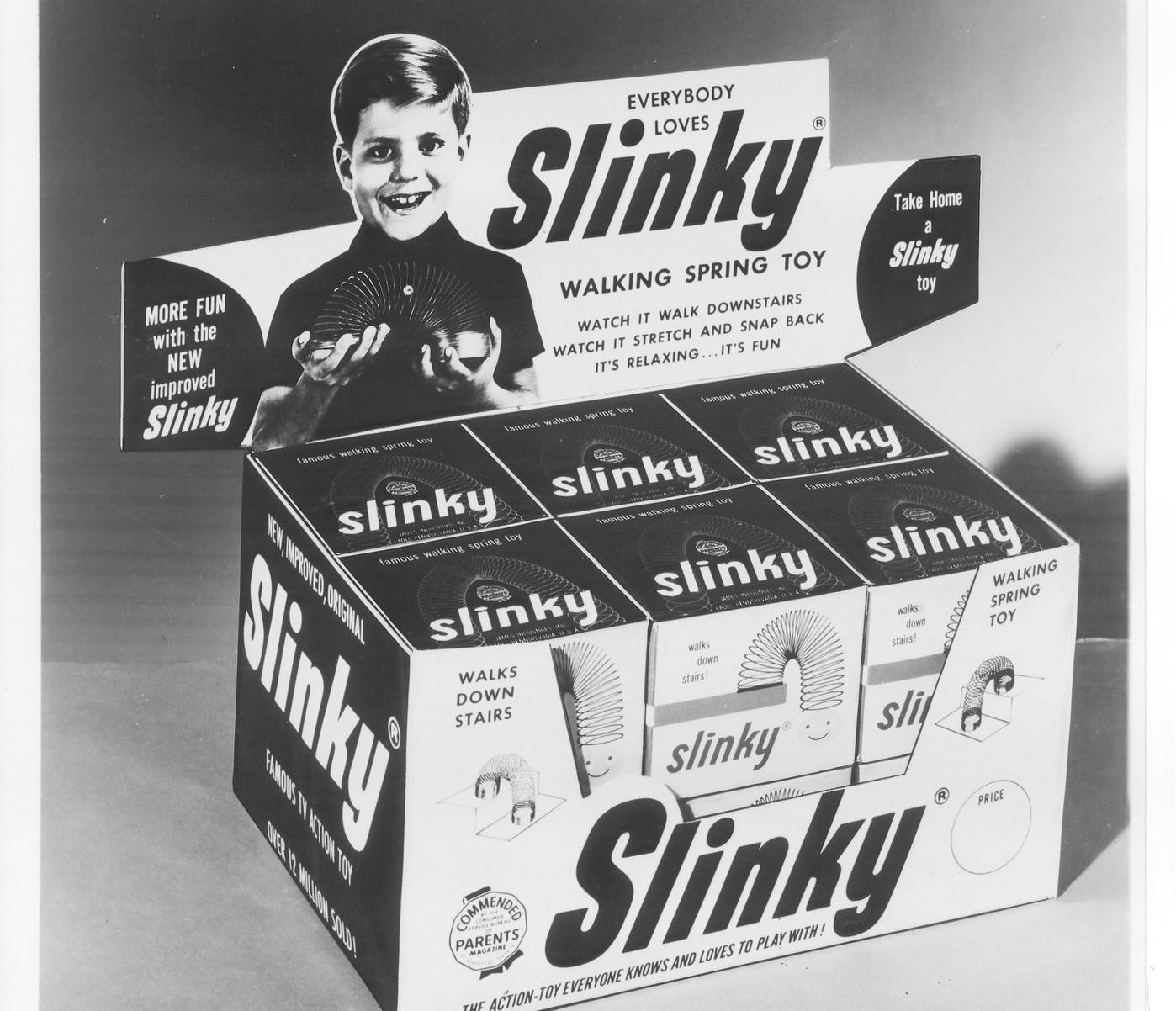 Slinky Comes Back to Clifton Heights With Its Own Roadside Historical Marker