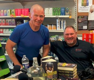 Wrestling Great Bob Backlund Stops by Burman's Health Shop for Chat With Owner