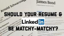 Resume and LinkedIn Match