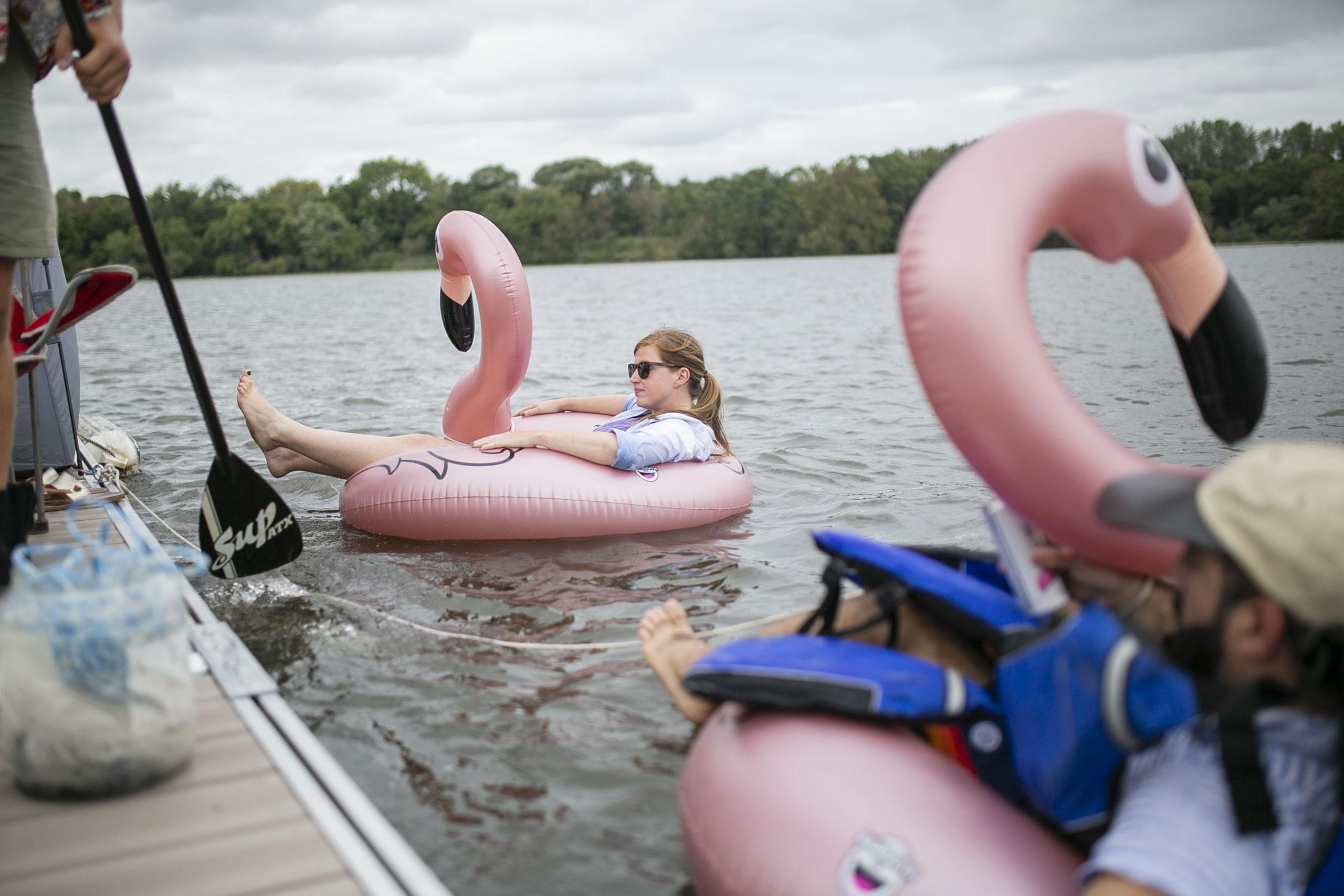Floatopia Tries to Promote a User Friendly Delaware River in Philadelphia-Camden