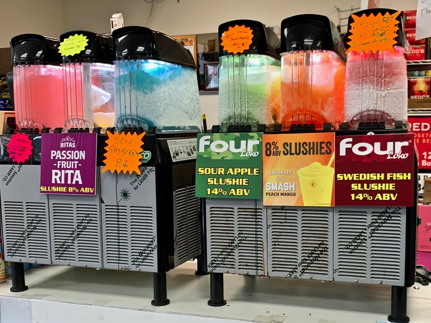 Delaware County Beer Distributors Now Offer a Rainbow of Malt Slushies