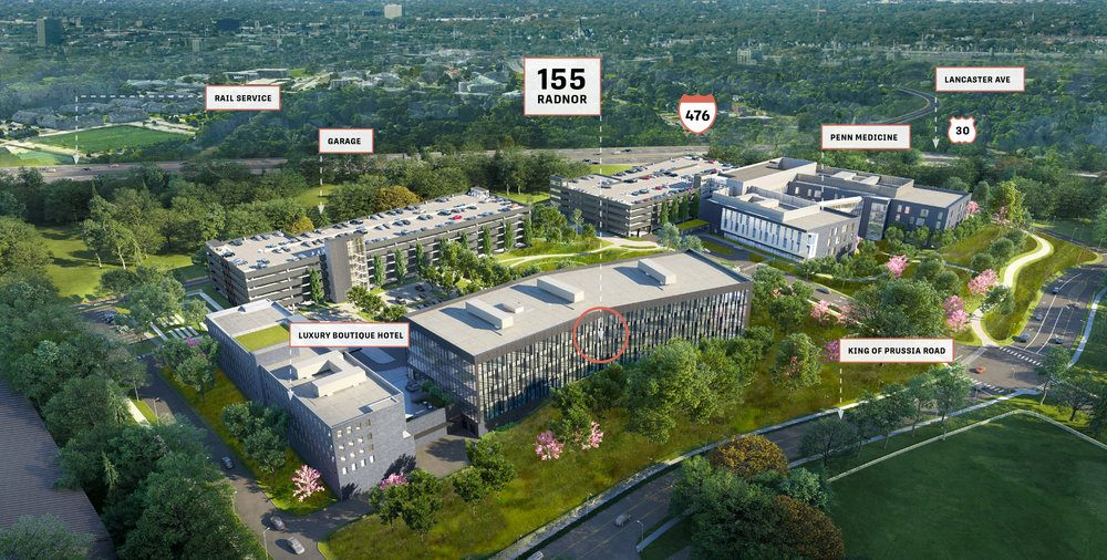 Radnor to Get Its First Office Development in 30 Years With King of Prussia Road Site