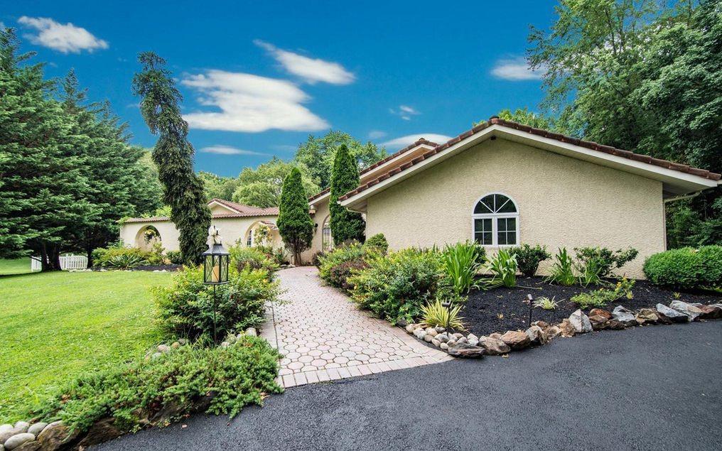 DNB First House of the Week: Custom-Designed Mediterranean Home in Glen Mills