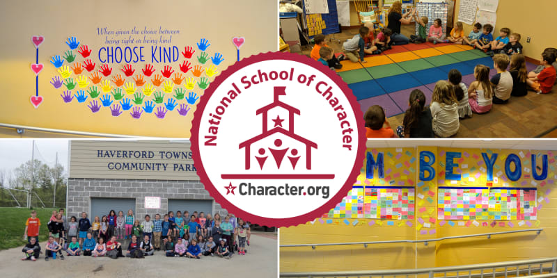 Chestnutwald Elementary Named a 'National School Of Character'