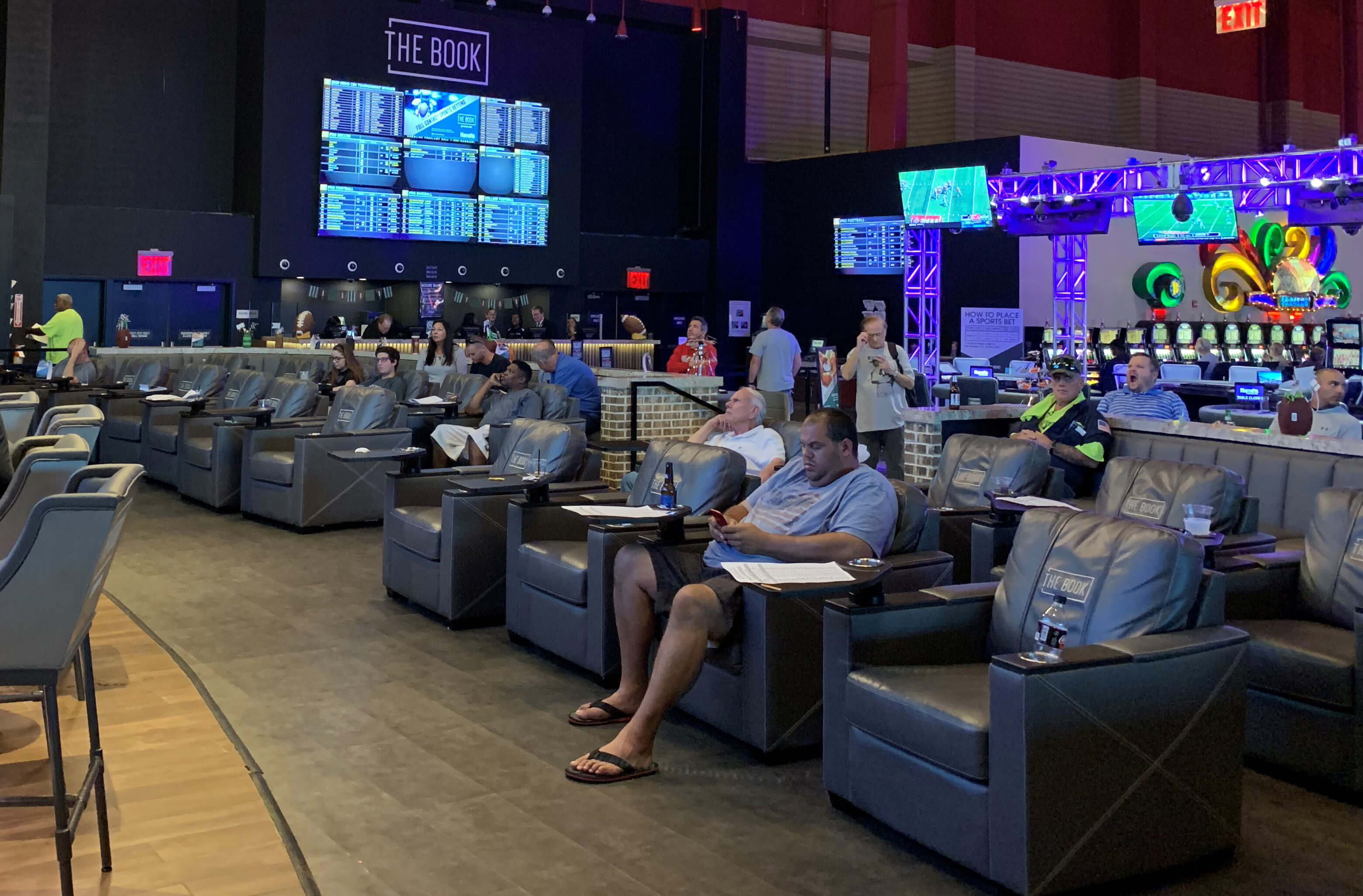 Harrah's in Chester Got Into Sports Betting First in the Region and It's a Pretty Nice Setup