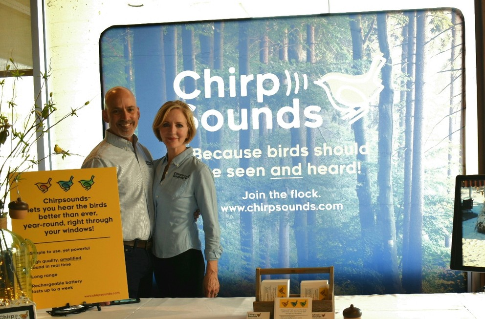 Entrepreneur Brings Birds' Sounds Inside with Passion Project Supported by Penn State Great Valley