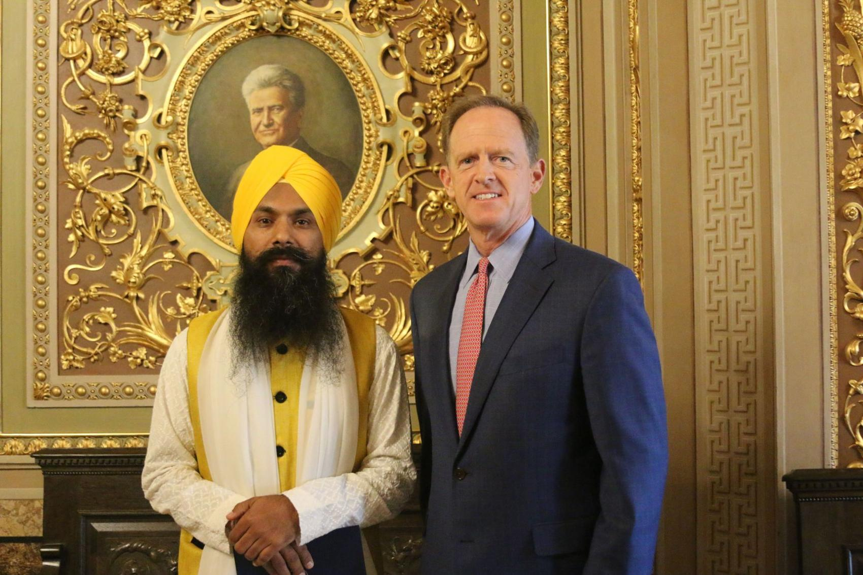 Making History: Upper Darby Sikhs Lead the Prayer in the U.S. Senate Chamber