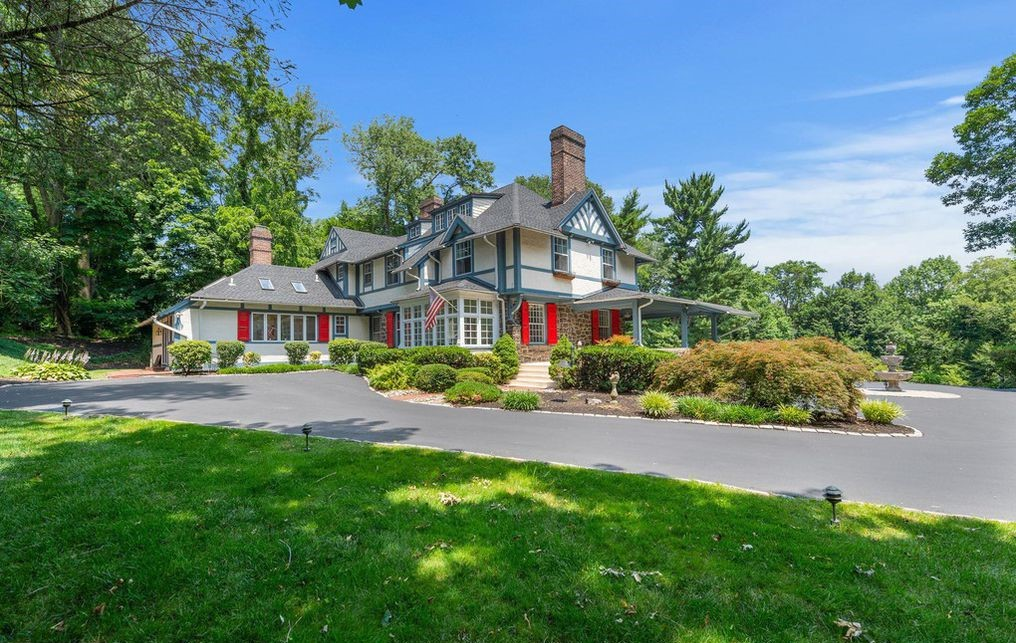 DNB First House of the Week: Tudor Home with Old-World Charm in Radnor Township