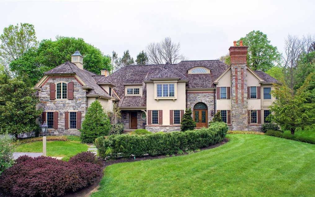 DNB First House of the Week: Stone Manor with Sophisticated Detailing in Wayne