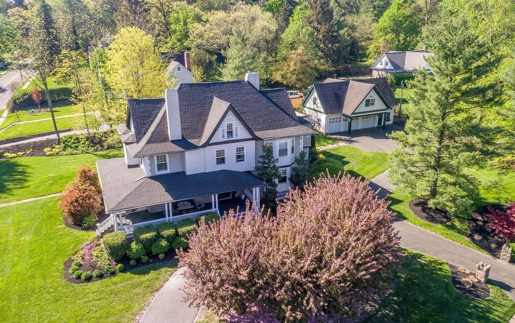 DNB First House of the Week: Restored Colonial with Carriage House in Wayne
