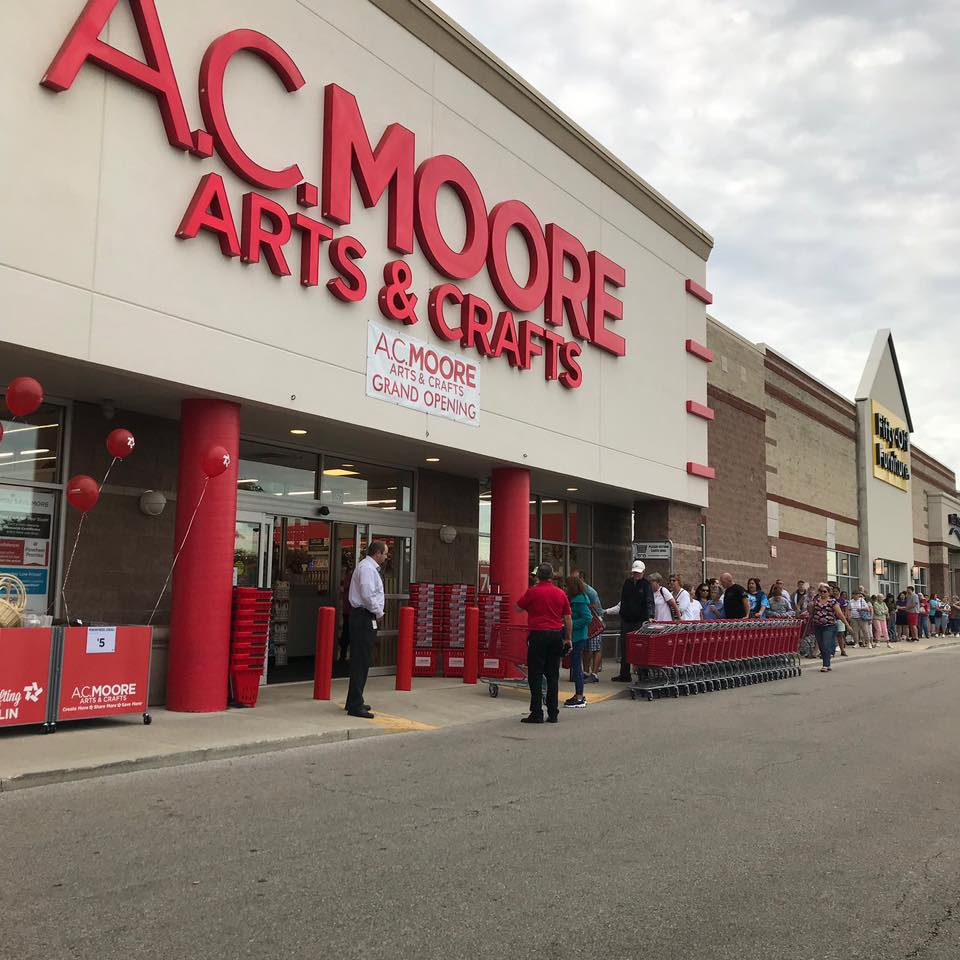 A.C. Moore Closes 145 Stores, Including Broomall. Michaels May Take Over Up to 40 of Them.