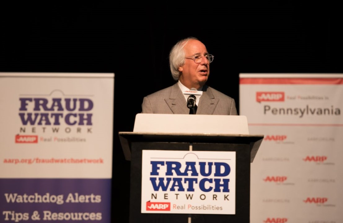 Identity Theft Expert, Subject of Movie Endorses AARP's Fraud Watch Network to Local Audience