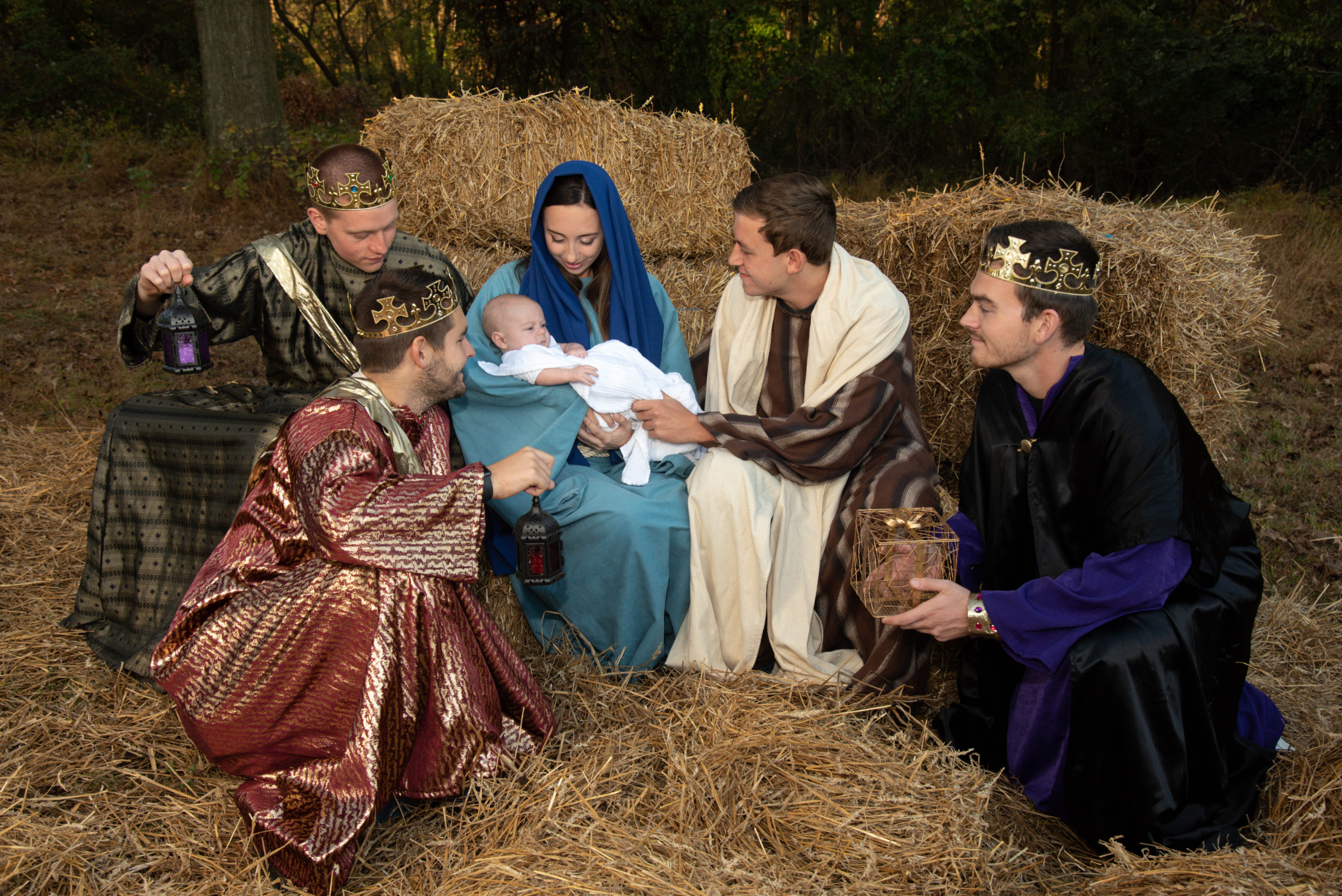 Live Nativity at Neumann University on December 8