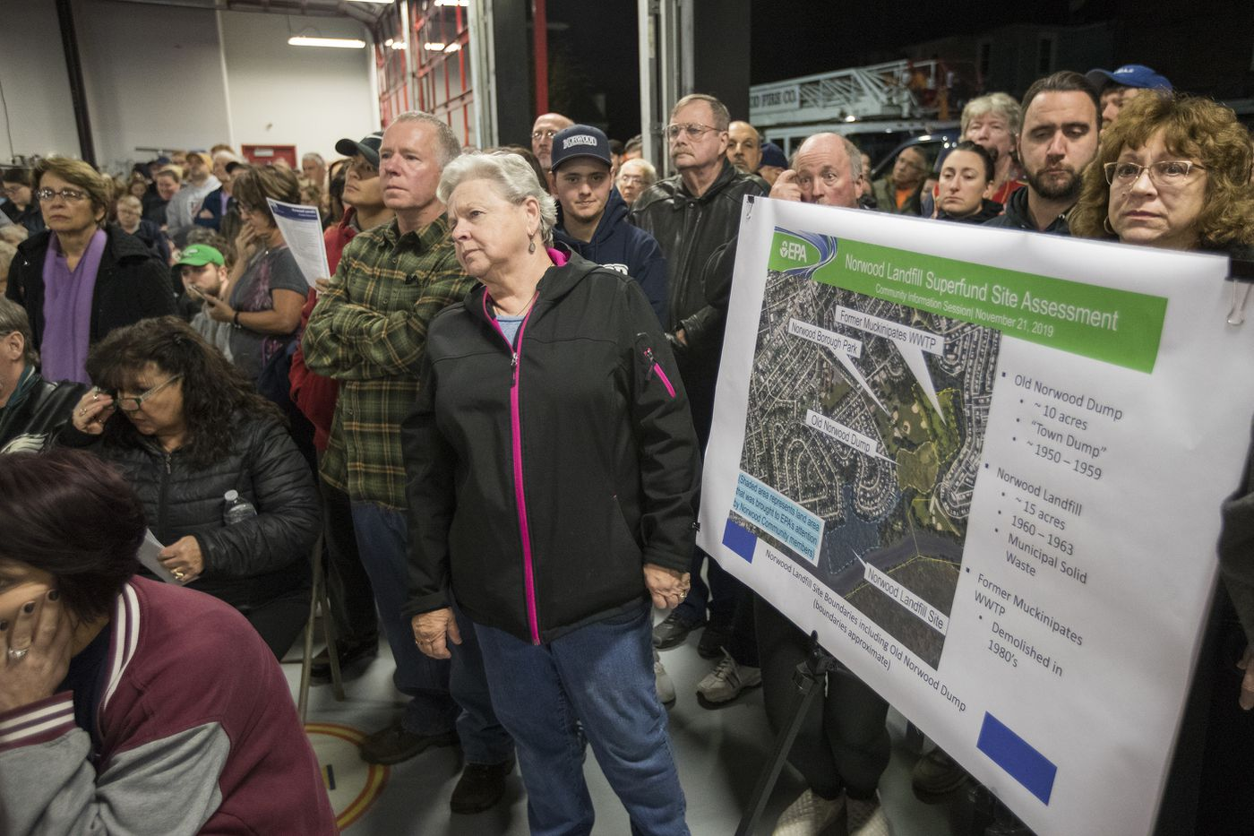 Hundreds of Norwood Residents Vent Cancer Fears Over Nearby Landfill to EPA Official