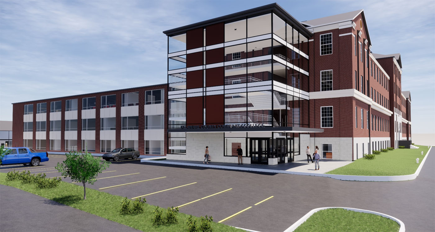 Here's What's Coming to the New Upper Darby Community College Campus at Prendie