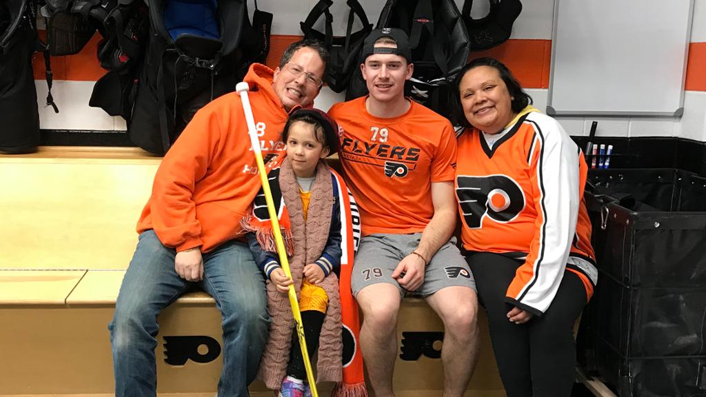 Special Hockey Stick Connects Flyers Goalie Carter Hart With Havertown Family