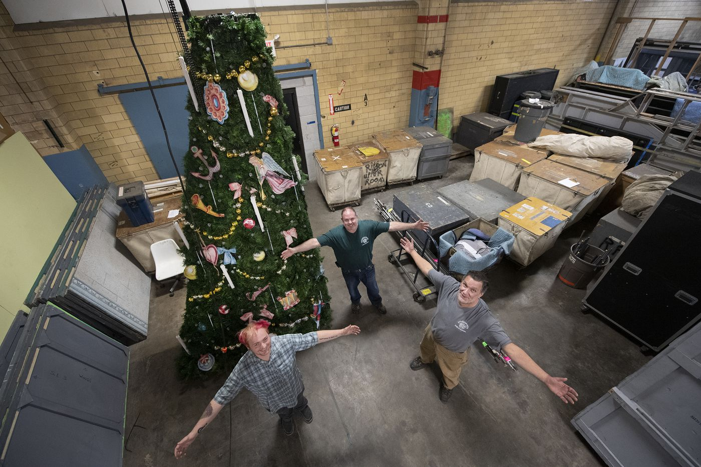 Pa. Ballet's Sharon Hill Warehouse Holds A Lot of 'Nutcracker' Magic, Including a Renovated Christmas Tree