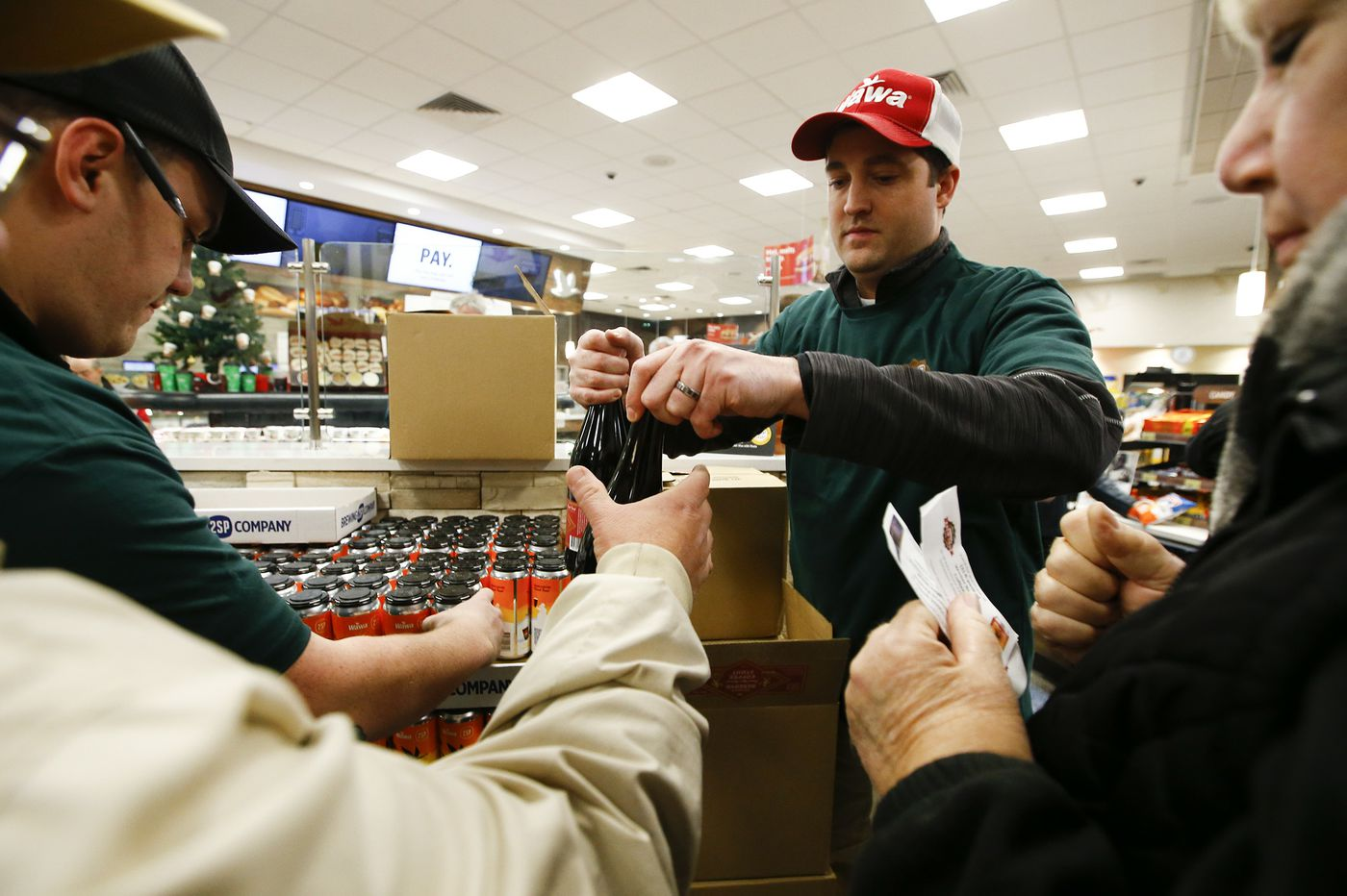 New Beers a Big Hit at Chadds Ford Wawa Brew Tour Opening