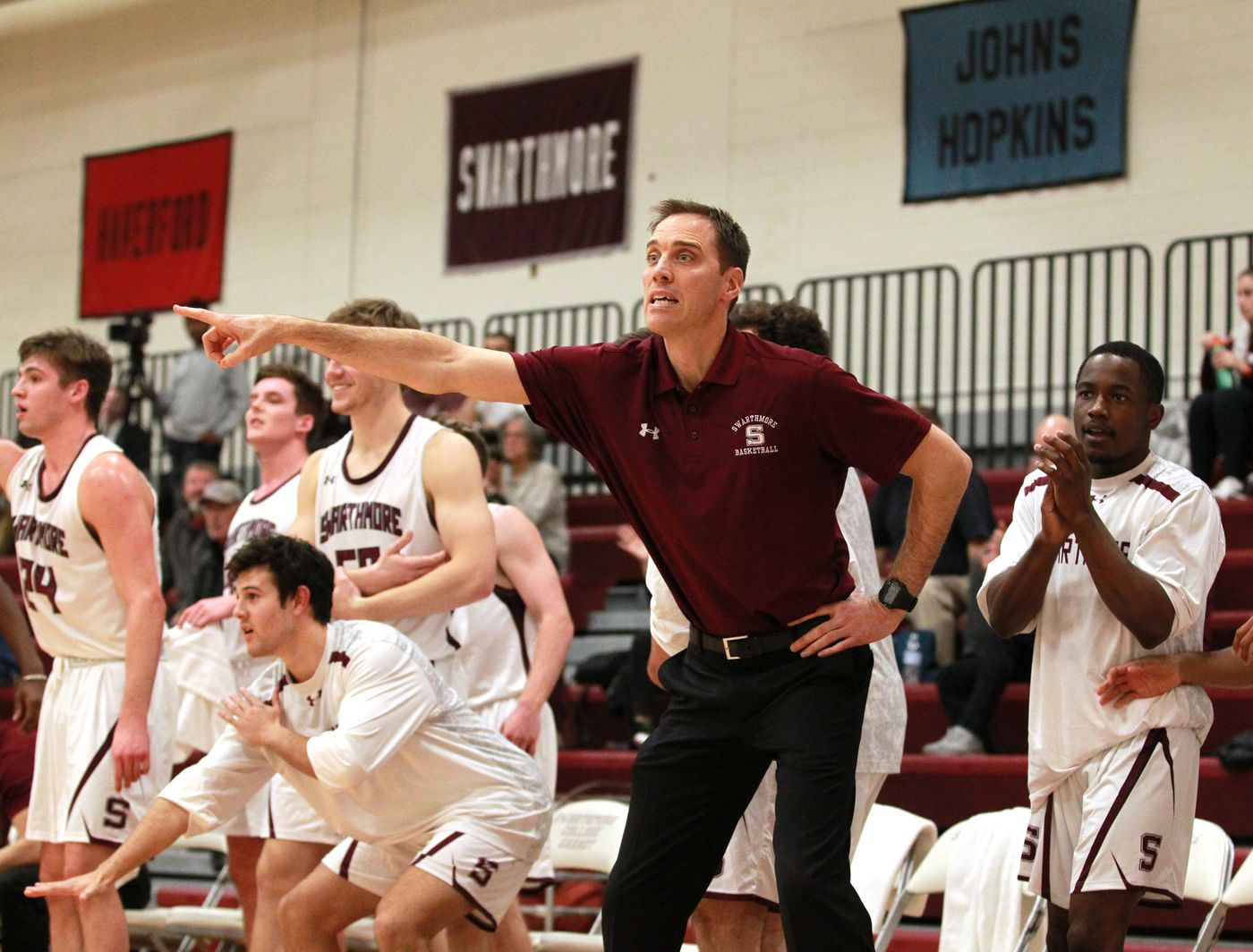 Swarthmore College Basketball Team Ranked No. 1 in Country in Division III