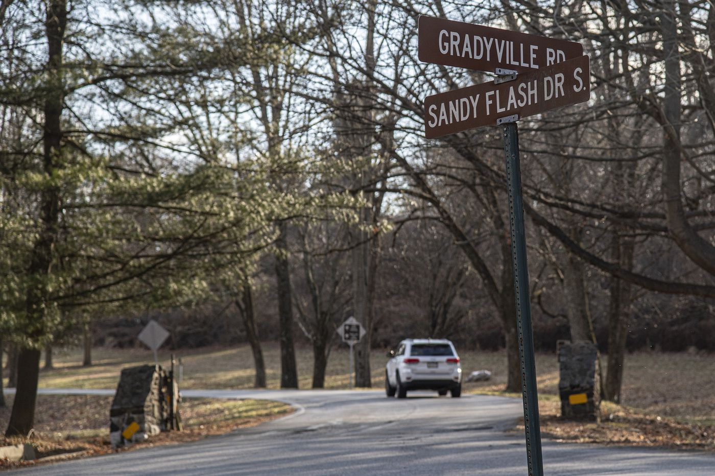 Ridley Creek State Park Street Named for Revolutionary War Traitor