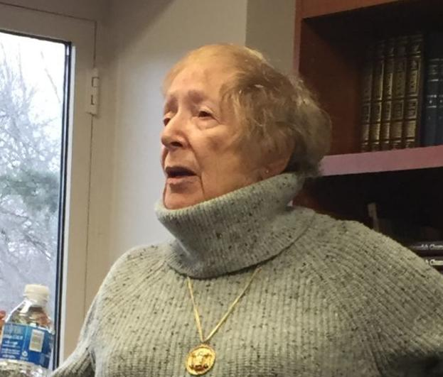 Woman Tells Students in Bryn Mawr About Her Childhood Escape From Nazi Germany