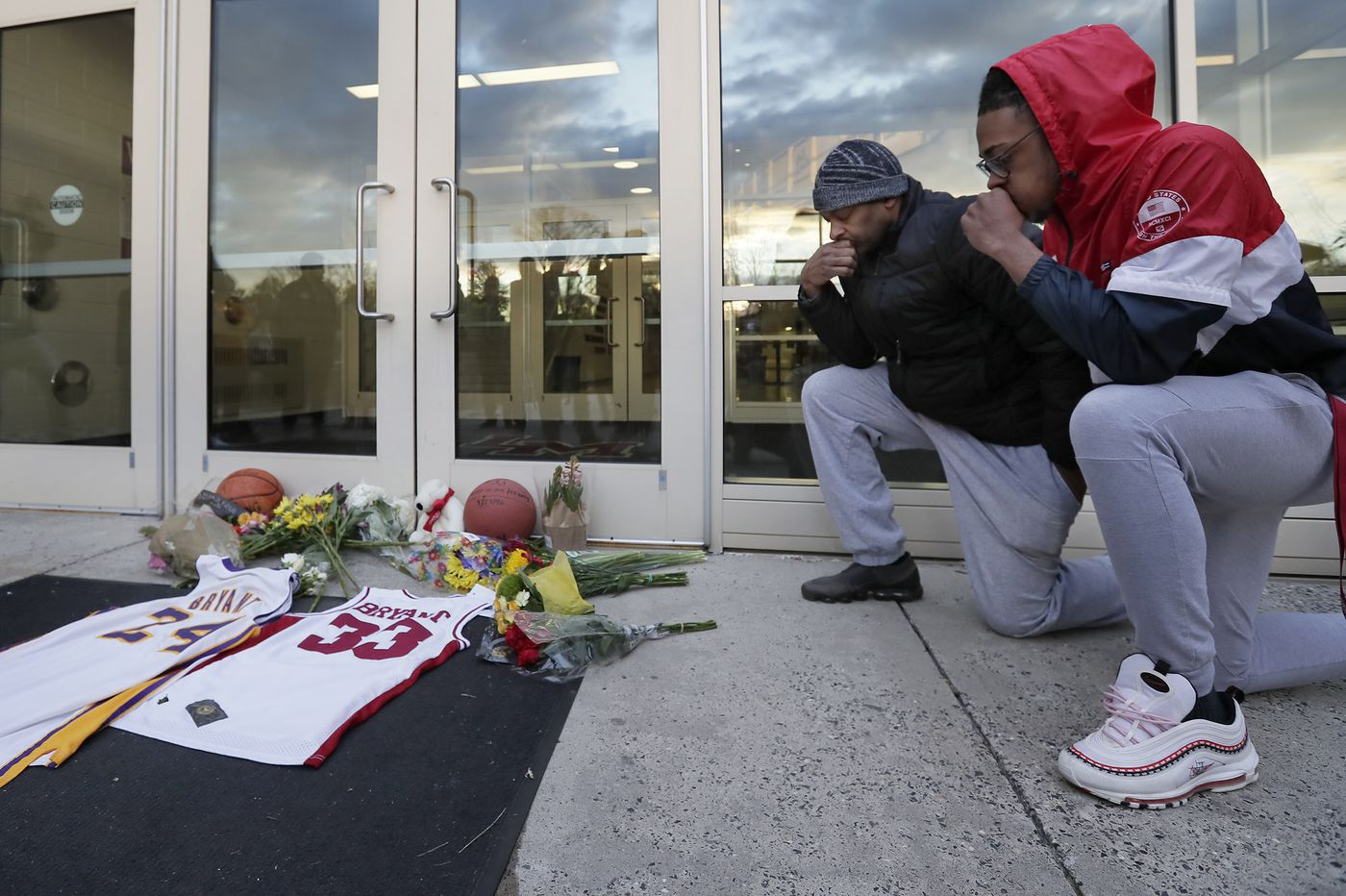 Former Lansdowne Man Stops at Lower Merion High to Remember Kobe Bryant on Day of Fatal Crash