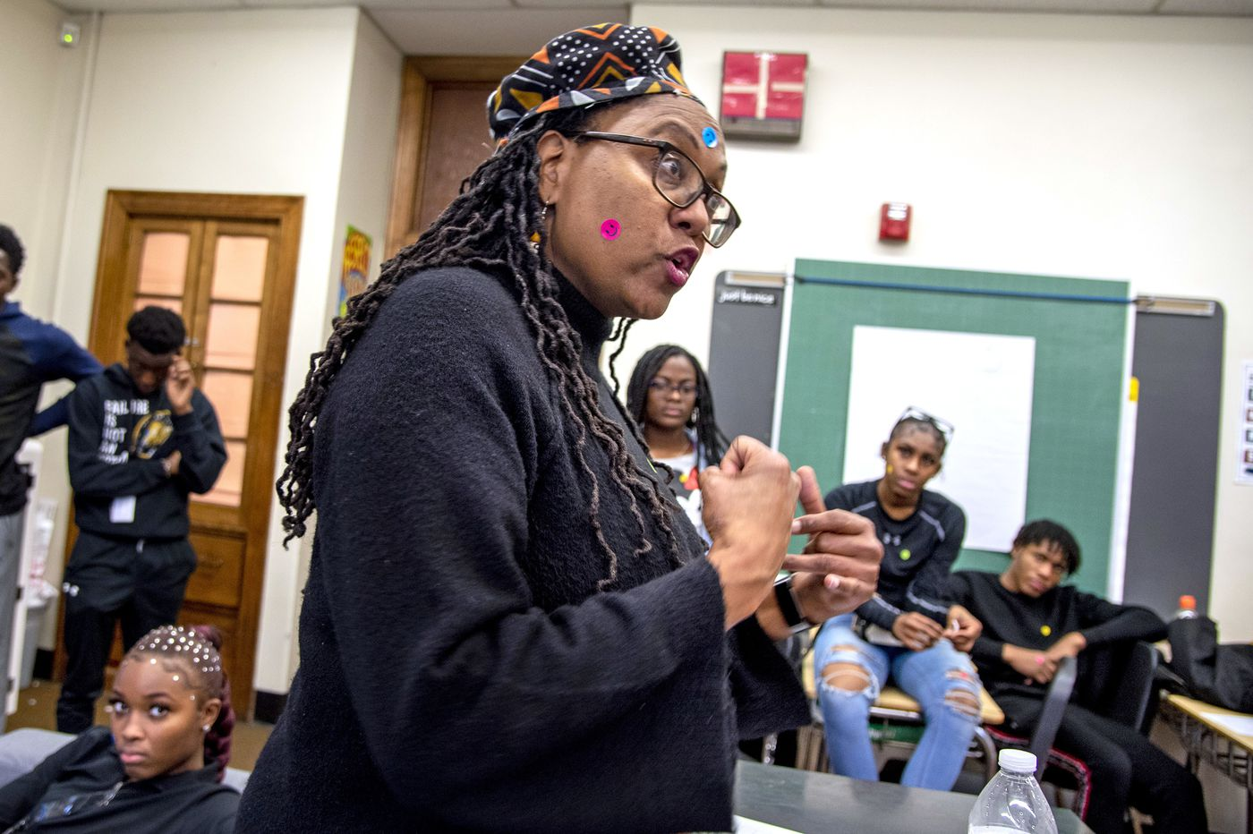 A Penn Wood High Teacher Wants to Give Students the Skills to Avoid Domestic Violence