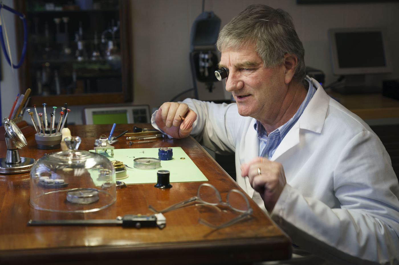 No One Repairs Watches Any More, So Why is This Wayne Watchmaker Turning Away Customers?