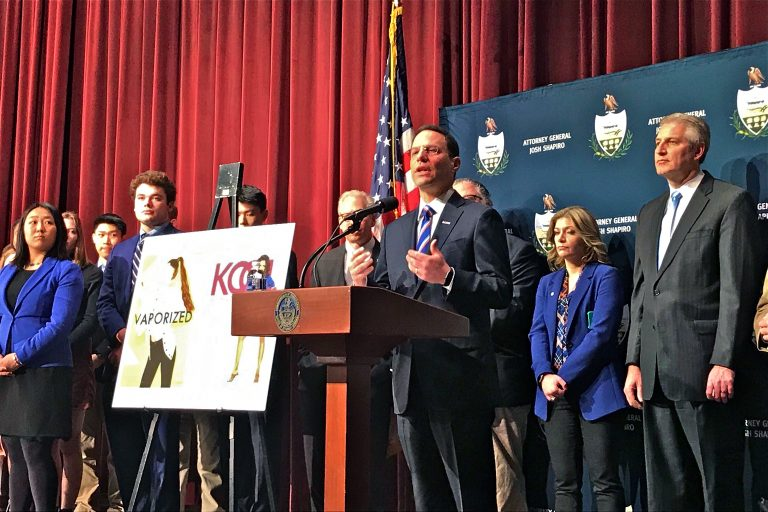 PA Attorney General Josh Shapiro Visits Radnor High to Announce Lawsuit Against E-Cigarette Manufacturer Juul