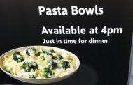 Exploring the Pastabilities.  Wawa Glen Mills Store Now Testing Pasta Dishes