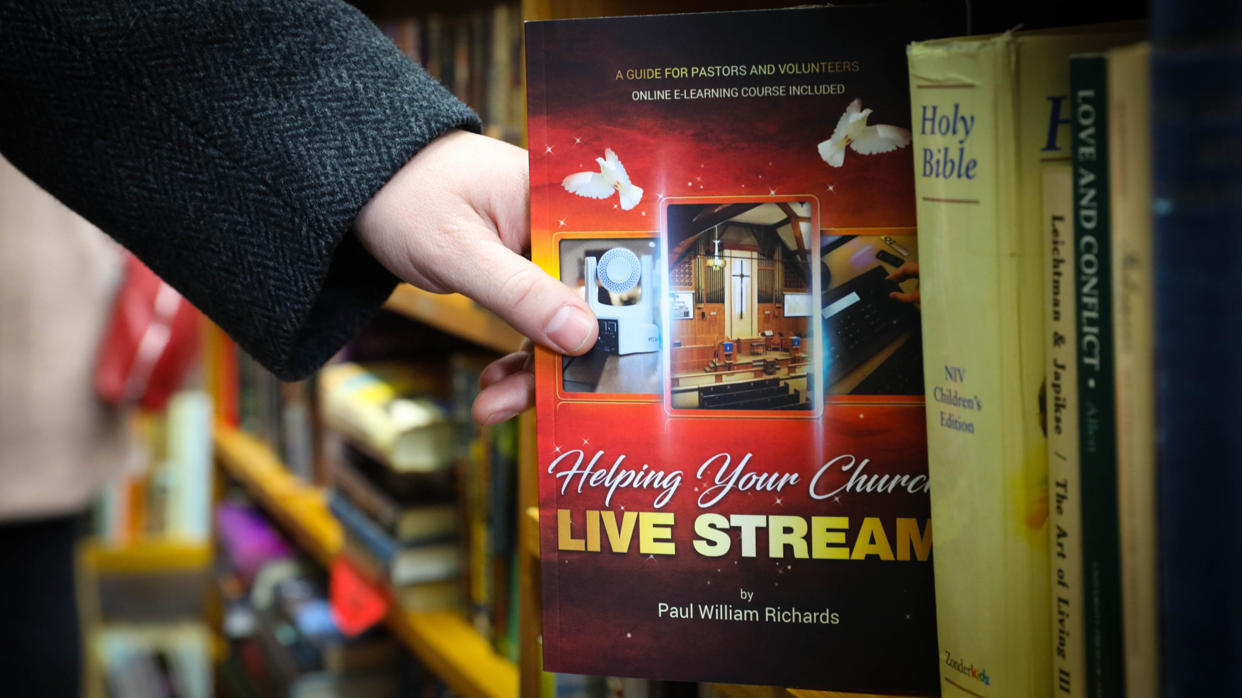 Amidst Coronavirus Outbreak, 'Helping Your Church Live Stream' Book Available Free to Houses of Worship to Pick Up in West Chester