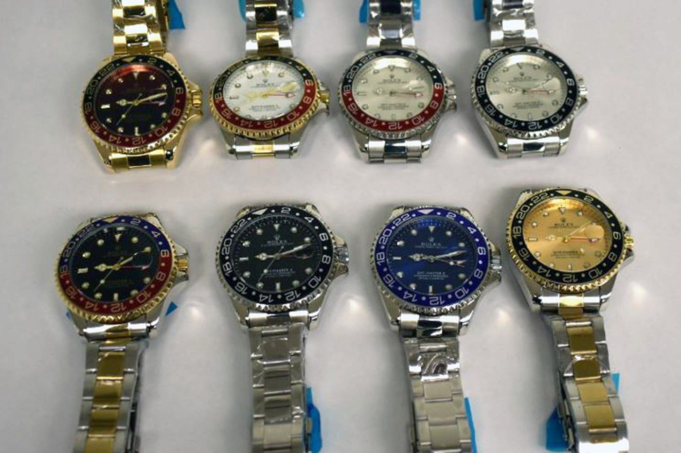 Fake Rolex Watches Destined for Delaware County Seized by U.S. Customs