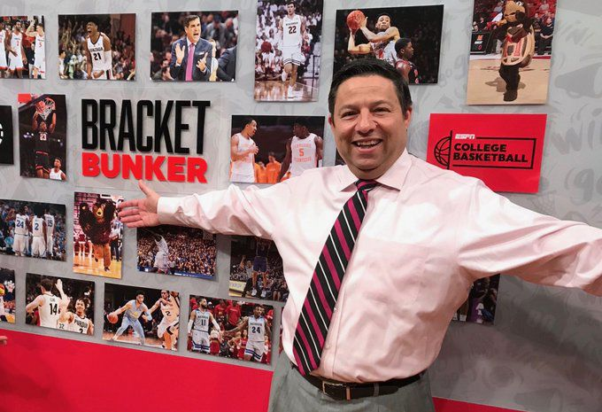 ESPN bracketologist Joe Lunardi of Drexel Hill isn't going to let the coronavirus or the NCAA stop him.