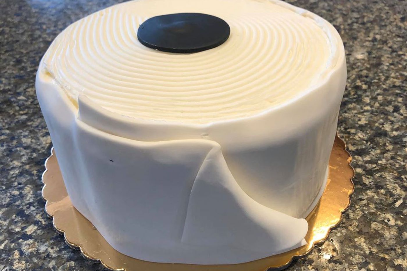 These Days, Prospect Park's Traub's Bakery Is Featuring Toilet Paper Cakes