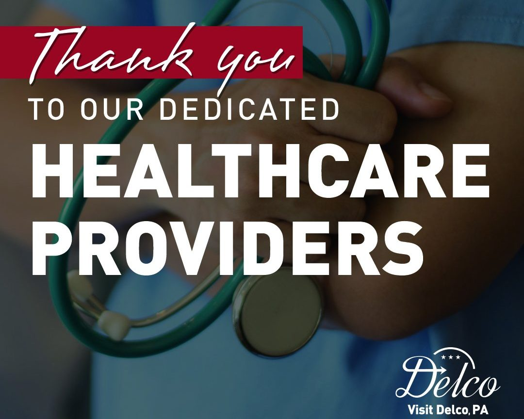 Visit Delco, PA Provides Meals to Healthcare Providers at 6 Delaware County Hospitals April 12