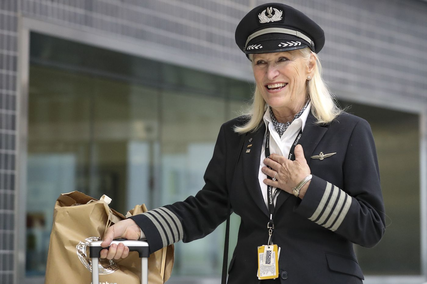 Retiring Woman Pilot With 39-Year Career Wouldn't Take 'No' for an Answer