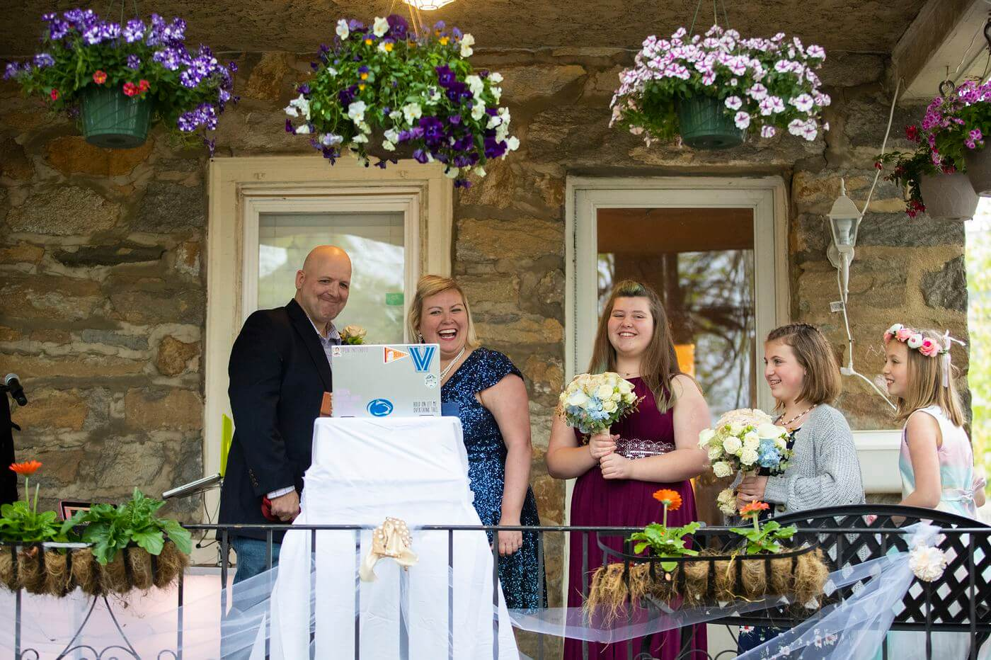 Sign of the Times: Wedding Moves From Ocean City to Their Springfield Front Porch