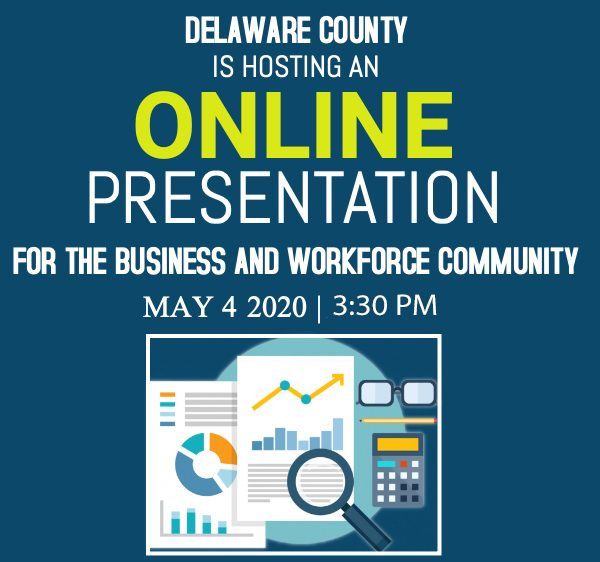 Delaware County Hosts May 4 Presentation on Available Business Resources During the Pandemic