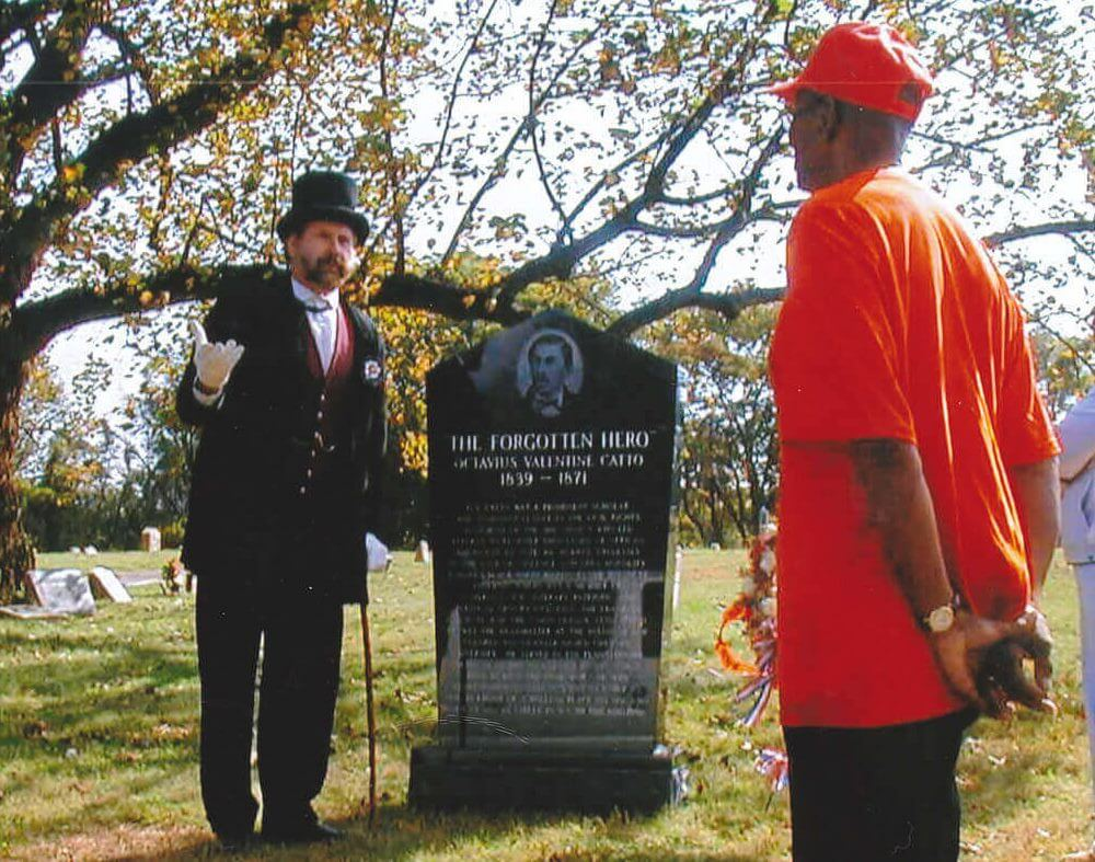 Finding African American History at Darby Borough's Eden Cemetery