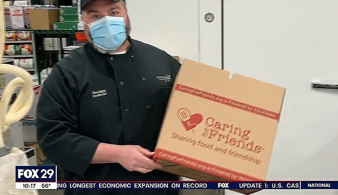 1,000 Meals a Day: Springfield Country Club Chef Uses Skills to Feed the Elderly