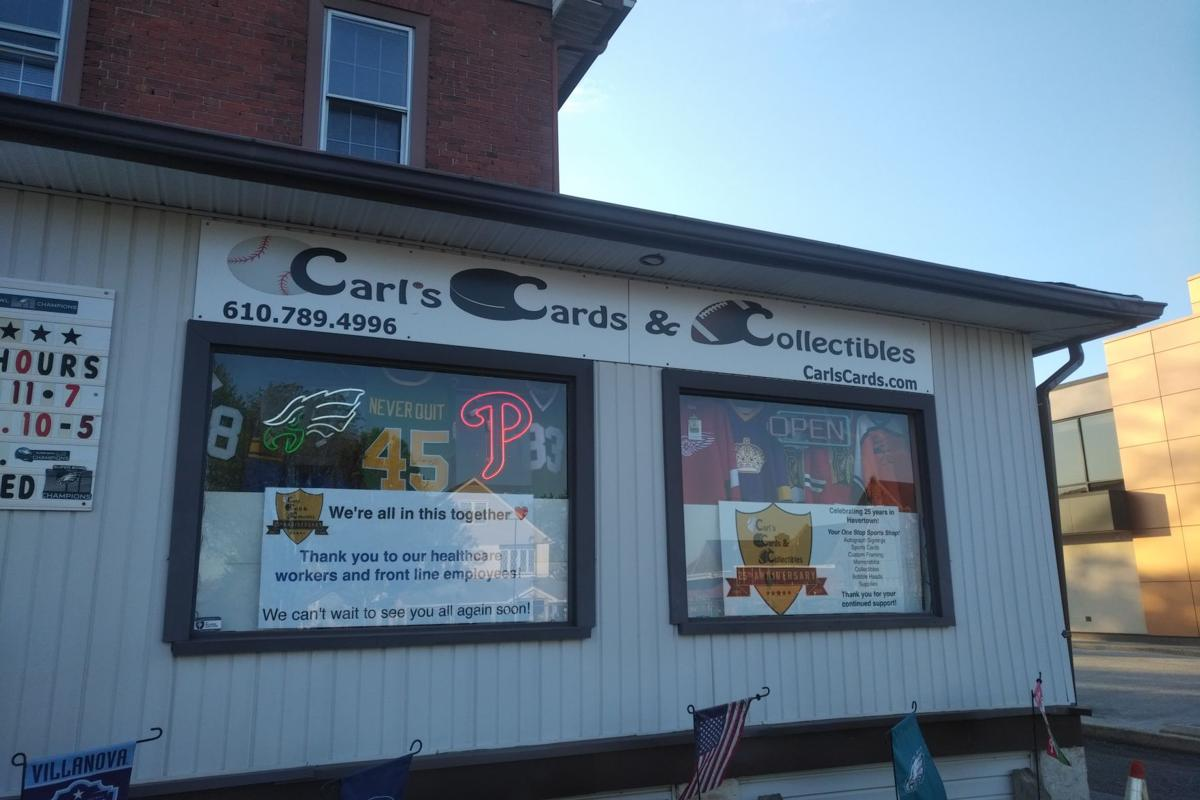Havertown's Carl's Collectibles Tracks 2020 Baseball Cards in Chaos of an Unknown Season